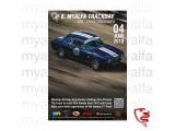 "Poster ""myalfa Trackday 2018"" 50 x 70cm"