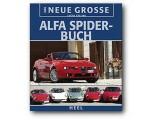 Das Grosse Alfa Spider Buch, teilweise farbige Bilder, 218 Seiten