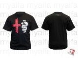 """T-Shirt schwarz """"Vintage"""",    100% Baumwolle"""