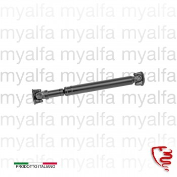 """REAR PROPSHAFT SECTION """"NEW"""" SPIDER / JUNIOR ZAGATO, 9MM HOLES, MADE IN ITALY, 660MM LENGTH"""