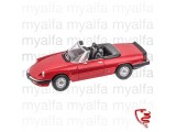 Alfa Romeo Spider Bj.1983-86 rot 1:18, Limited Edition