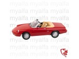 Alfa Romeo Spider Bj,1990-93 red 1:18, Limited Edition##Alfa Romeo Spider Bj,1990-93 red 1:18, Limited Edition