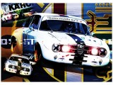 Kunstdruck Bertone GTAm       70x100 cm