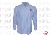 "Hemd ""Creation Sportivo"", blau, Langarm, 100% Baumwolle"